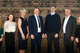 Cheshire Law firm SAS Daniels Katherine Wakley, Jane Caldecott, Steph Lyke, Scott Mulligan, Robert Champin, Nigel Read, Angela Fergus