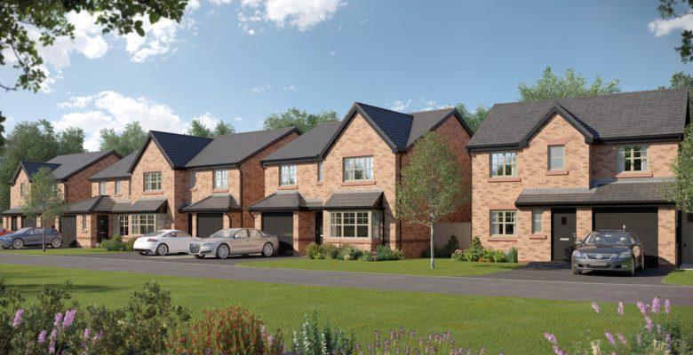 Bellway Macclesfield development