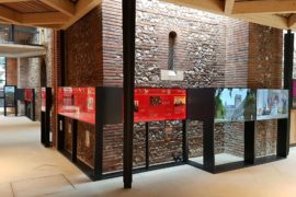 wilmslow design consultancy unveils new visitor experience at St Alban's cathedral