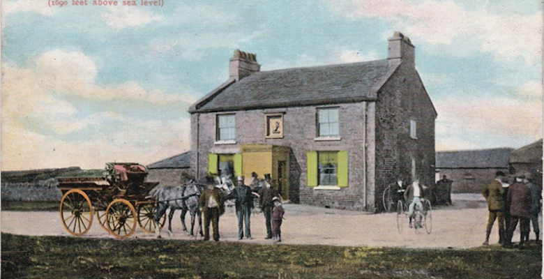 Old photos of the Cat and Fiddle Macclesfield
