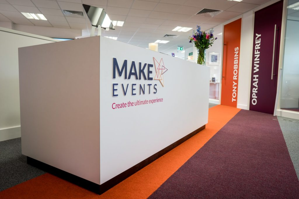 Wilmslow-based Make Events nominated for Inspired Office Interior Award