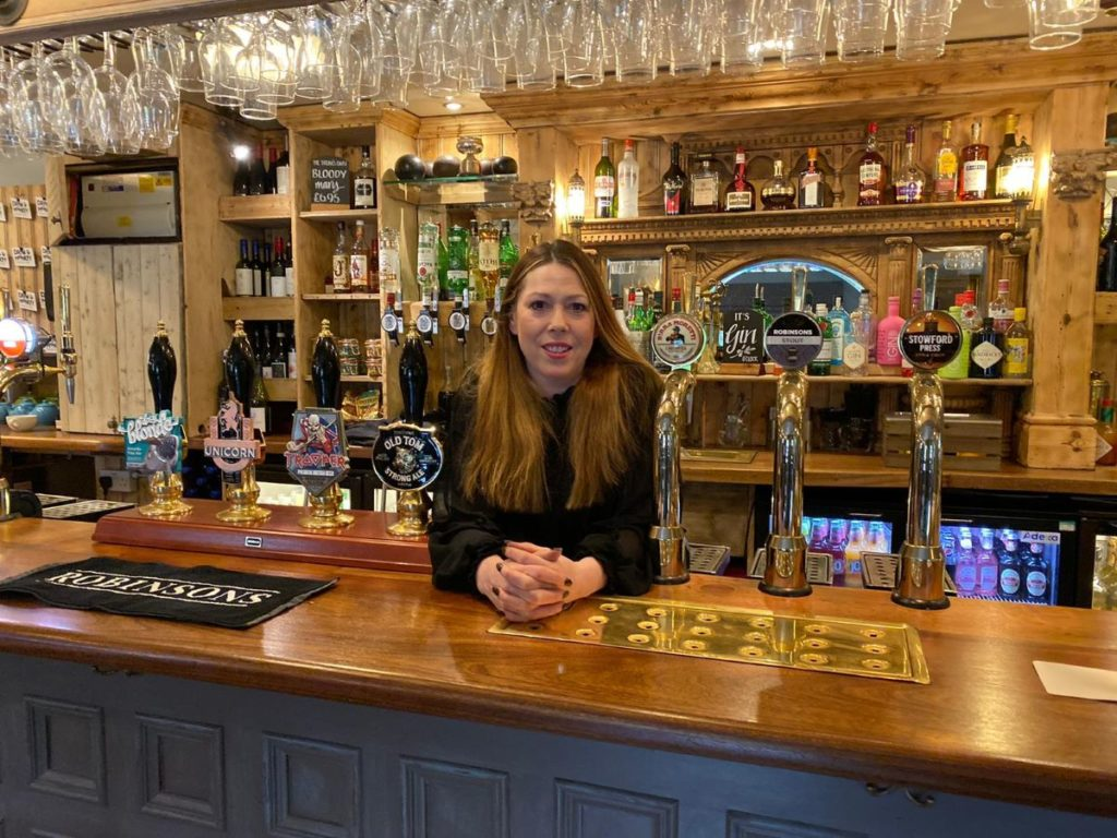 The Drum and Monkey's General Manager, Nicci Winsor