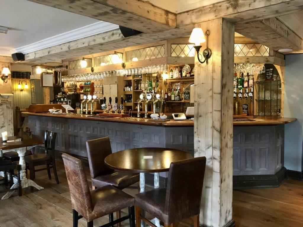 The investment has modernised the bar area at the Alderley Edge pub