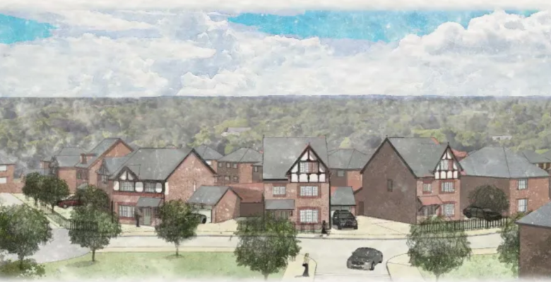 224 homes in handforth