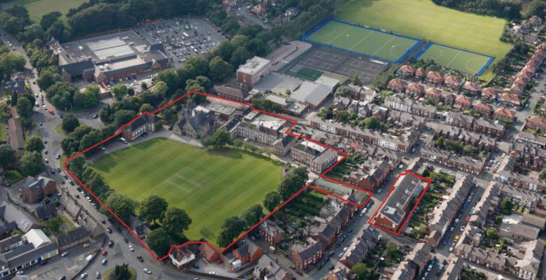 Macclesfield school site seeks planning permission for residential development