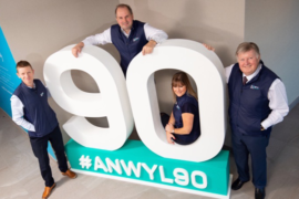 Anwyl Homes turns 90