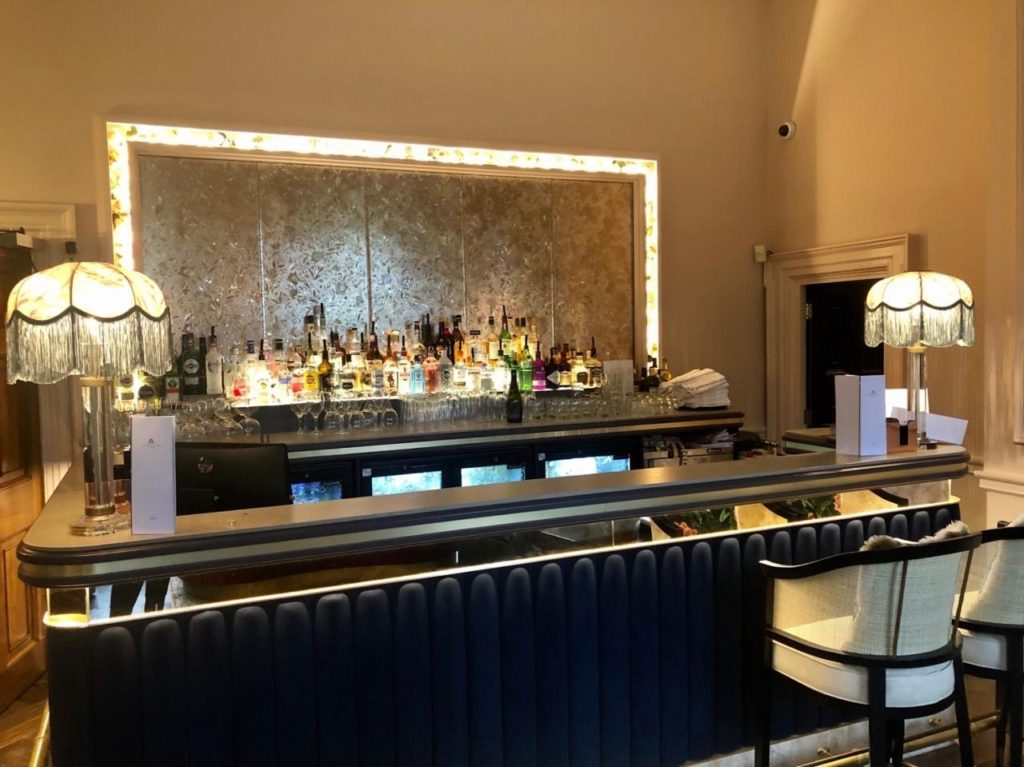 Mottram Hall release pictures of new bar and reception as part of Champneys investment