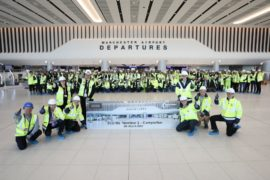Manchester Airport Terminal 2 Extension Handover From Laing O'Rourke March 2020