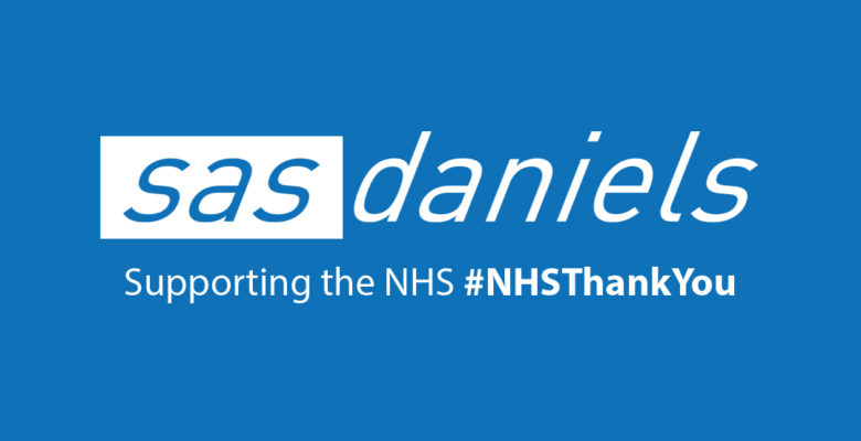 SAS Daniels shows support by offering discount to NHS staff
