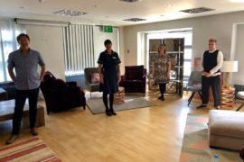 Macclesfield furniture retailer donates to NHS staff sanctuary