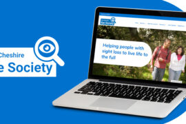 Macclesfield sight loss charity refreshes brand and website