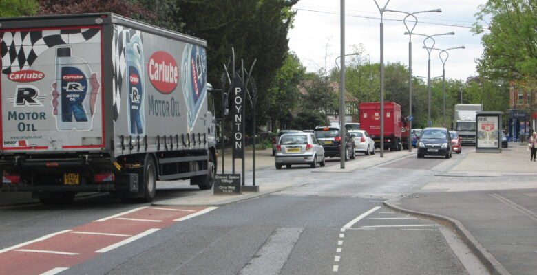 Poynton Relief Road will help ease traffic in the village