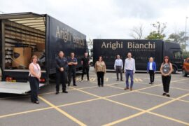 Furniture retailer Arighi Bianchi makes £32,000 donation to Cheshire hospital