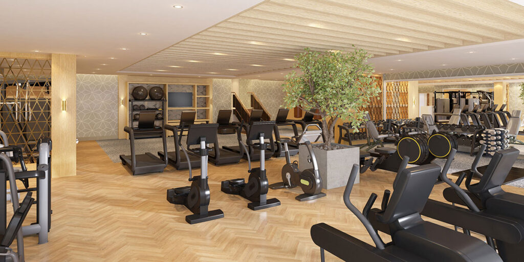 New gym facilities and Champneys Spa Mottram Hall