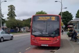 Macclesfield to Handforth bus service saved from axe