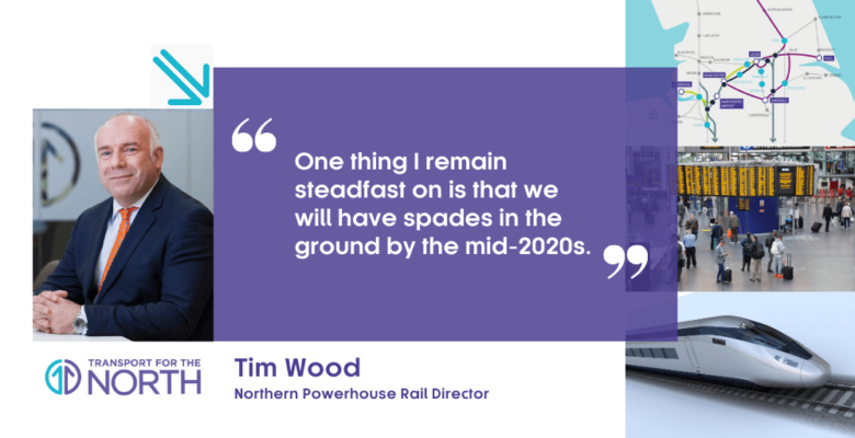 Northern Powerhouse Rail could start in less than five years says TfN Director