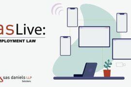 SAS Daniels employment law webinar