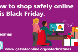 Cheshire East Council Black Friday warning