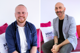 Elliot Garner and Mark Leeming join Wilmslow agency Make Events