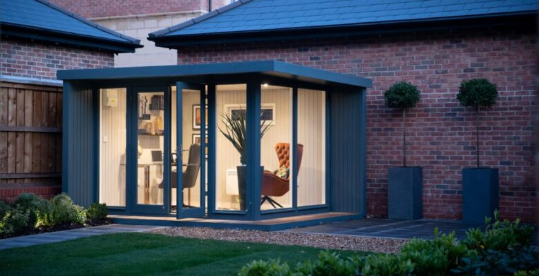 Garden Studio at Heatherley Wood.