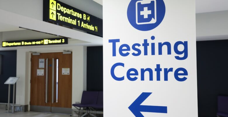 Manchester Airport Covid-19 Testing Centre 2