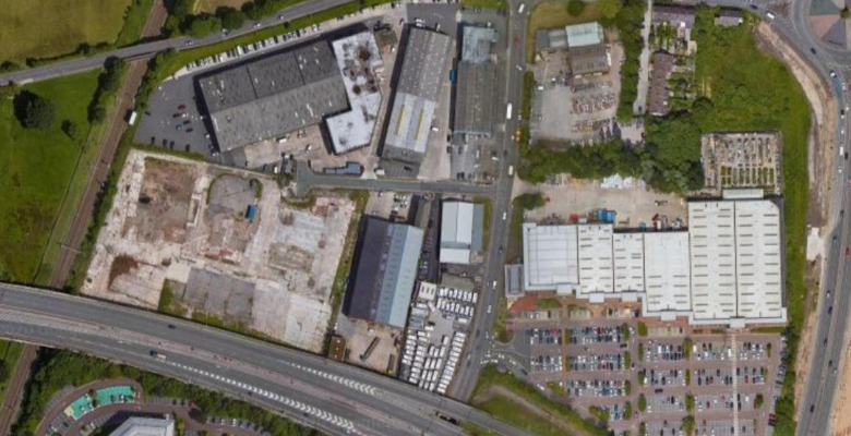Stanley Green Trading Estate Handforth (image Google Maps)