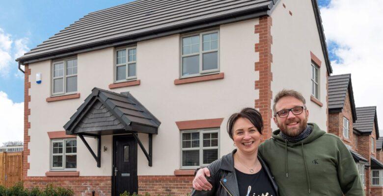 Dawn Blyth and Matt Bishop at home at King's Quarter