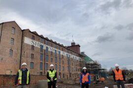 Cheshire design consultancy wins restoration tender for Shrewsbury Flaxmill Maltings