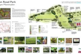 Meriton Road Park Handforth masterplan
