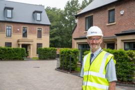 Bellway's Heatherley Wood Site Manager Danny McCarron, Pride in the Job winner