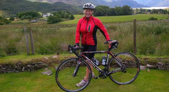 National recognition for council's cycling champion Cllr Suzie Akers-Smith