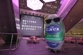 Carex launches Manchester Airport partnership to support safe return to travel