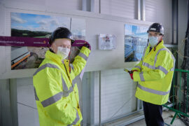 AstraZeneca tops out on new manufacturing facility