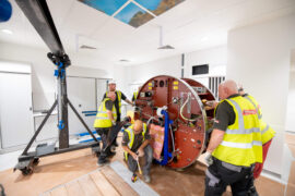 Radiotherapy machines and scanner delivered to The Christie at Macclesfield