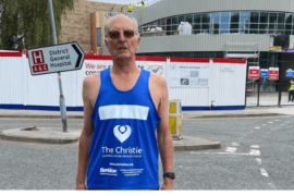 Macclesfield 83-year-old to run two marathons in a week for The Christie