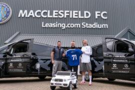 LSH Auto celebrates Macclesfield FC's first anniversary
