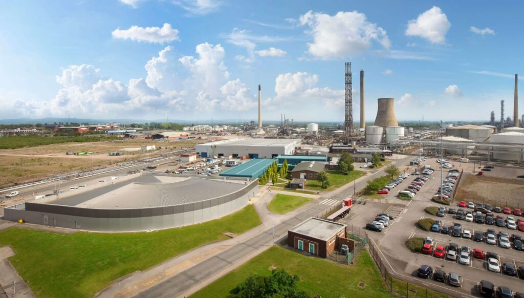 The HyNet hydrogen production plant will be located at Stanlow Manufacturing Plant in Ellesmere Port